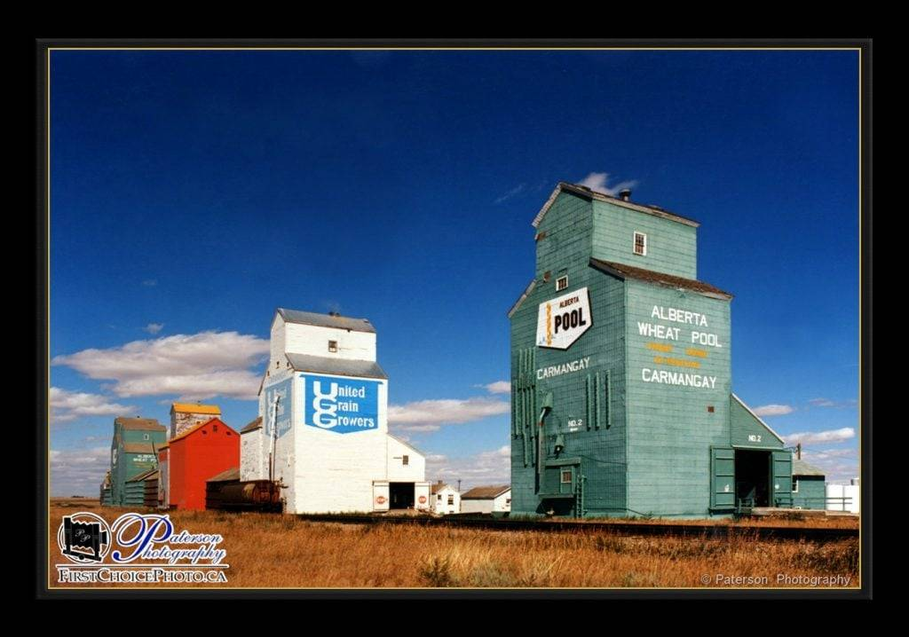 Carmangay Grain Elevators agriculture photography