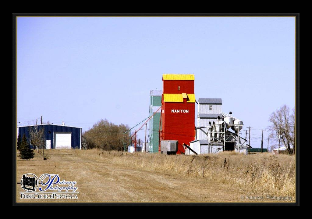 Nanton Grain Elevators agriculture photography